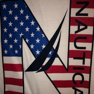 Nautica 1983 14-16 Youth Large T-Shirt